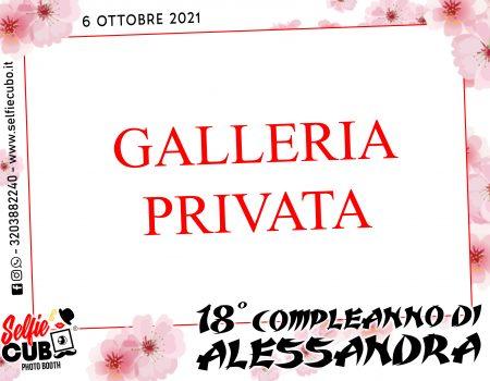 Protetto: 18° Compleanno di Alessandra